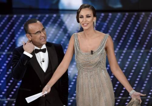 Madalina Ghenea, i sexy abiti a Sanremo 2016 62