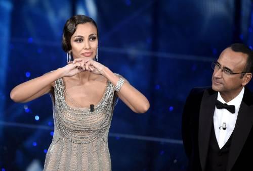 Madalina Ghenea, i sexy abiti a Sanremo 2016 67