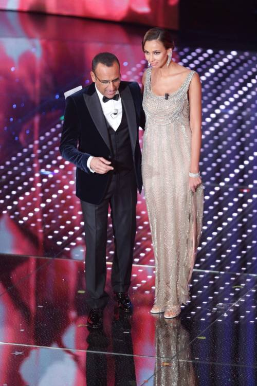Madalina Ghenea, i sexy abiti a Sanremo 2016 69