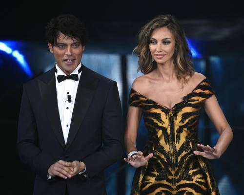 Madalina Ghenea, i sexy abiti a Sanremo 2016 74