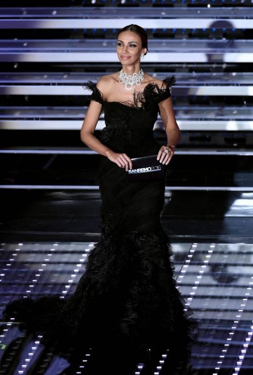 Madalina Ghenea, i sexy abiti a Sanremo 2016 76