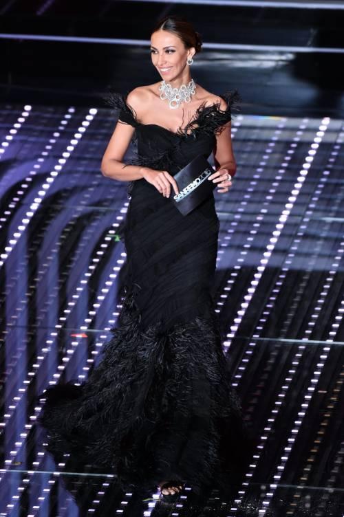 Madalina Ghenea, i sexy abiti a Sanremo 2016 77