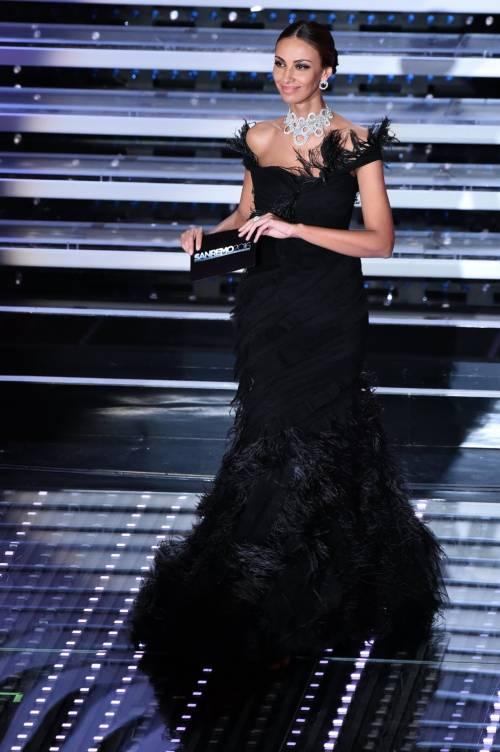 Madalina Ghenea, i sexy abiti a Sanremo 2016 78