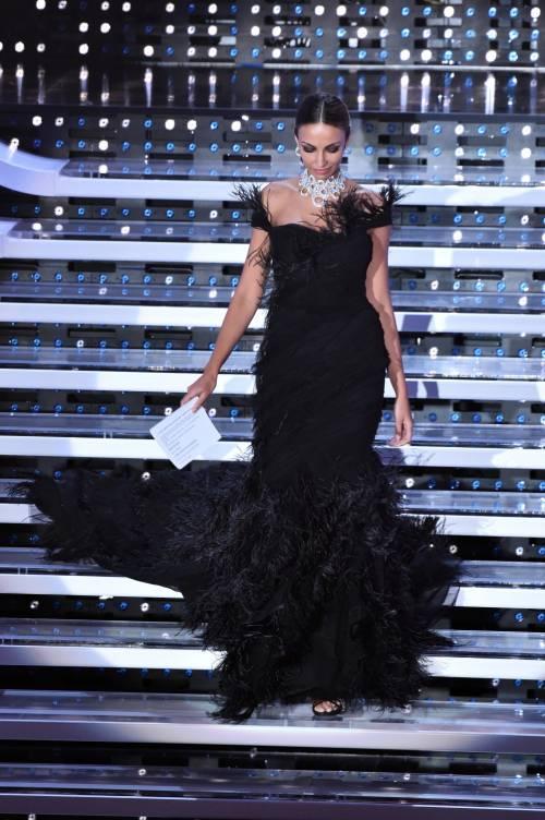 Madalina Ghenea, i sexy abiti a Sanremo 2016 79