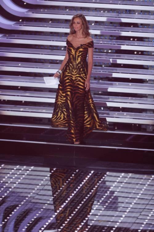 Madalina Ghenea, i sexy abiti a Sanremo 2016 86