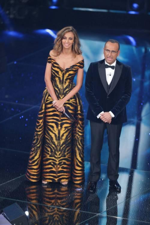 Madalina Ghenea, i sexy abiti a Sanremo 2016 87