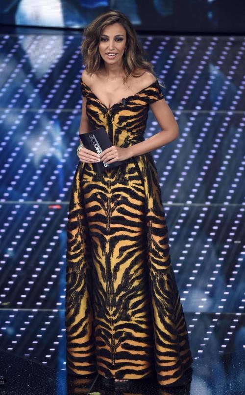 Madalina Ghenea, i sexy abiti a Sanremo 2016 92