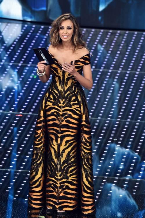 Madalina Ghenea, i sexy abiti a Sanremo 2016 91