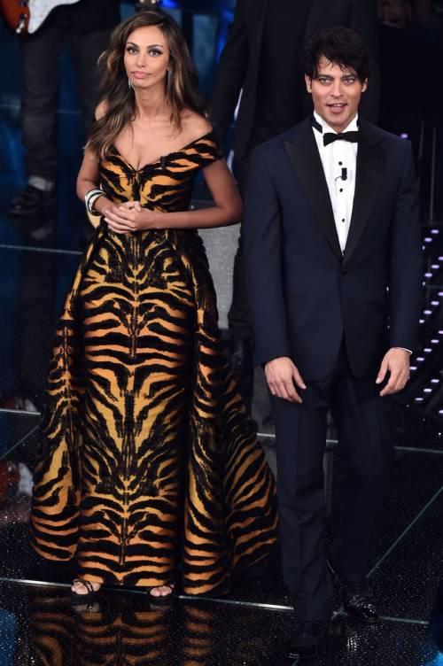 Madalina Ghenea, i sexy abiti a Sanremo 2016 95