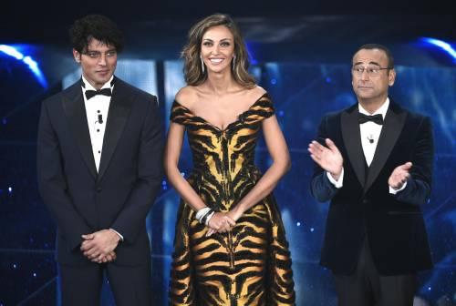 Madalina Ghenea, i sexy abiti a Sanremo 2016 97