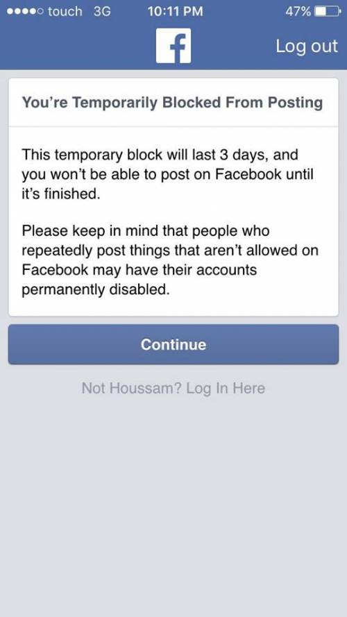Facebook blocca Hezbollah 2