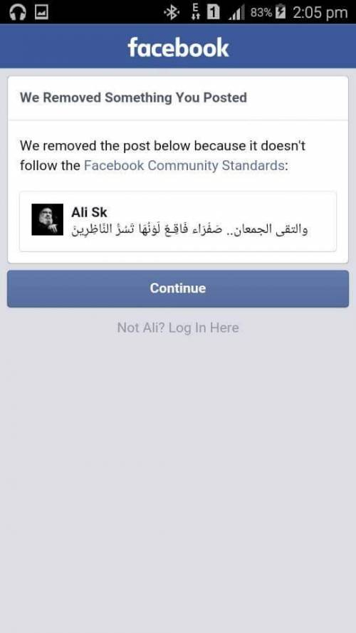 Facebook blocca Hezbollah 4