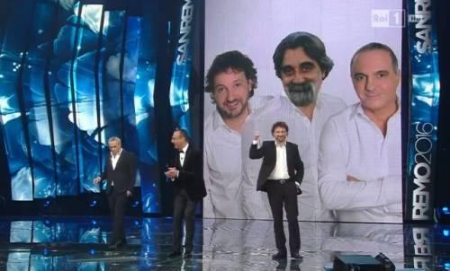 Al festival di Sanremo la satira su Matteo Renzi