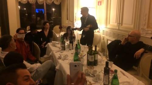 Sanremo, Bluvertigo eliminati e Morgan suona in hotel