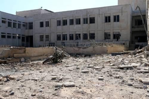 Attacchi in Siria contro scuole e ospedali 5