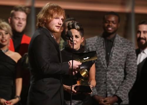 Grammy 2016: è di Ed Sheeran la canzone dell'anno. Foto 6
