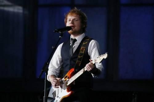 Grammy 2016: è di Ed Sheeran la canzone dell'anno. Foto 9