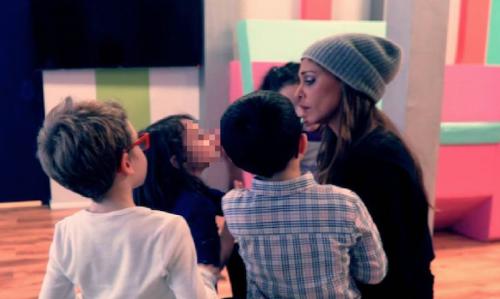 "Belen Rodriguez torna in tv con ""Pequenos gigantes"" 5"