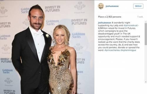 Kylie Minogue e Joshua Sasse fidanzati ufficialmente: foto 2