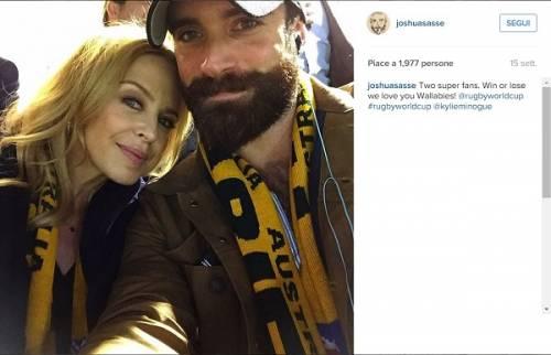 Kylie Minogue e Joshua Sasse fidanzati ufficialmente: foto 4