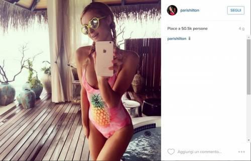 Paris Hilton, compleanno sexy su un'isola da sogno: foto 8