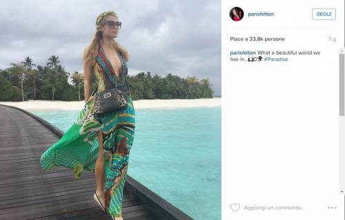 Paris Hilton, compleanno sexy su un'isola da sogno: foto 14