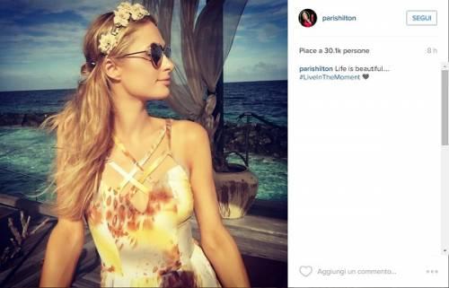 Paris Hilton, compleanno sexy su un'isola da sogno: foto 18