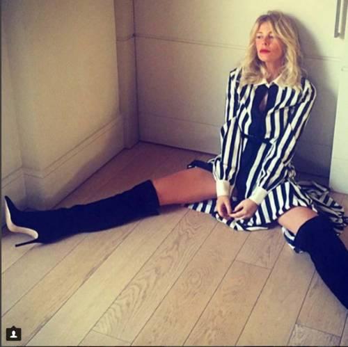 Alessia Marcuzzi, nuove foto su Instagram 10
