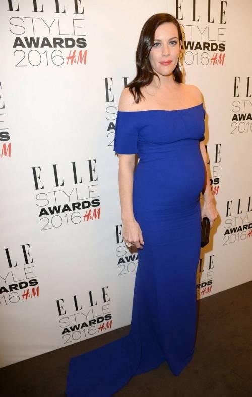 Liv Tyler incinta sul red carpet agli Elle Style Awards: foto  8
