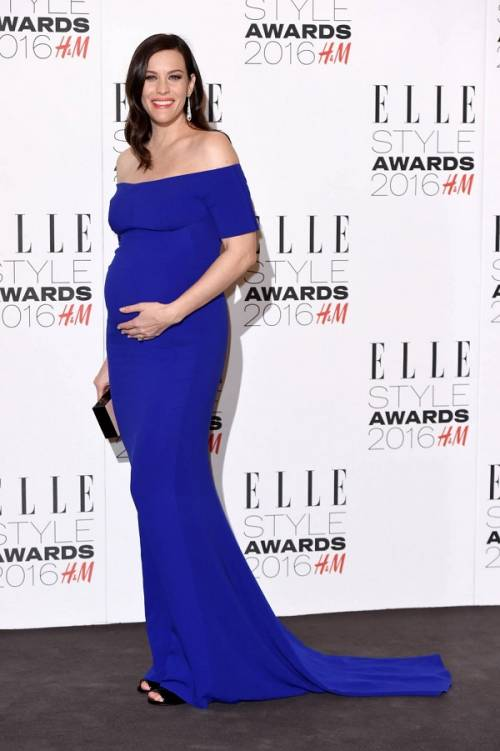 Liv Tyler incinta sul red carpet agli Elle Style Awards: foto  9