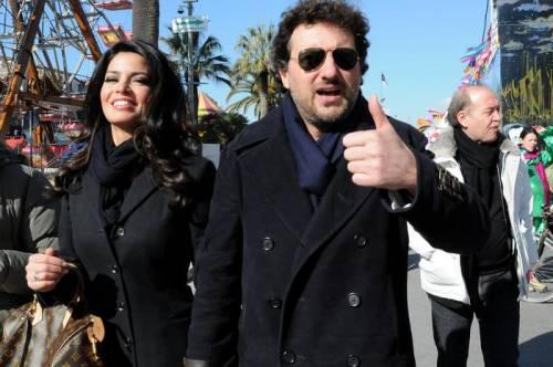Leonaro Pieraccioni rinnova la sua dichiarazione d'amore a Laura Torrisi 2