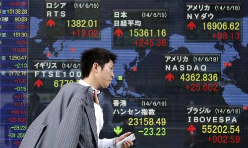 Mercati: profondo rosso cinese. Crolla tutto, anche il Bitcoin