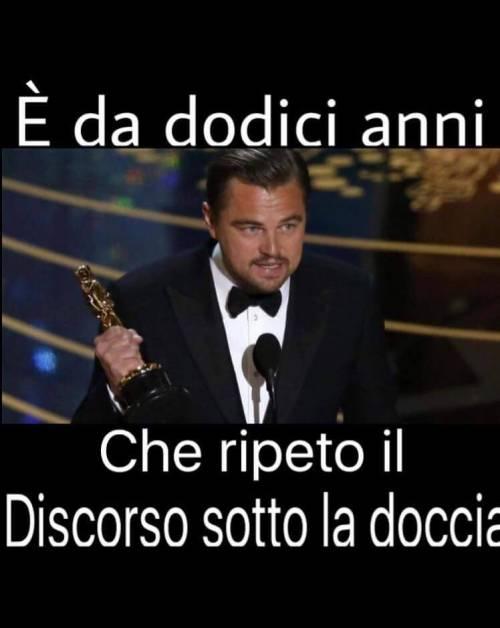 Leonardo DiCaprio vince l'oscar, la reazione della rete 10