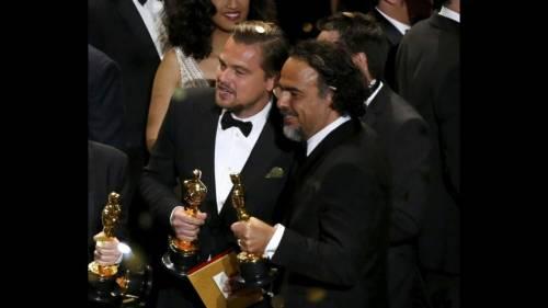 Leonardo DiCaprio vince l'oscar, la reazione della rete 8