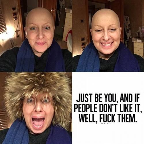 Carolyn Smith non indietreggia e il tumore regredisce 11