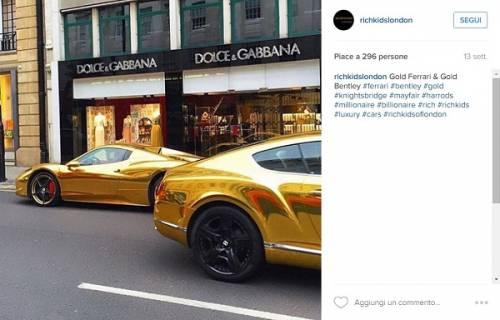"""Il lusso sfrenato dei """"ragazzi ricchi"""" di Londra: foto 2"""