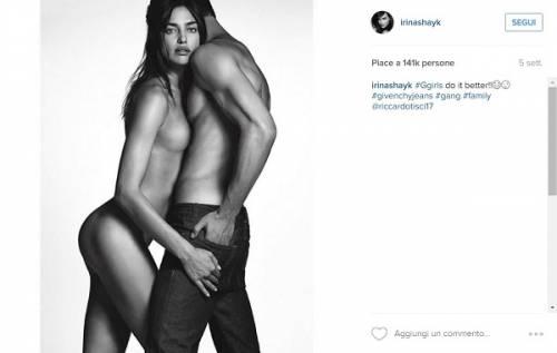 Irina Shayk nuda su Instagram: foto 4