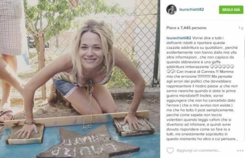 Laura Chiatti sui social tra amore e odio 3
