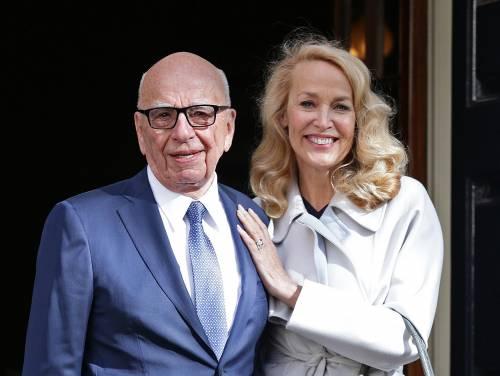 Nozze Rupert Murdoch-Jerry Hall