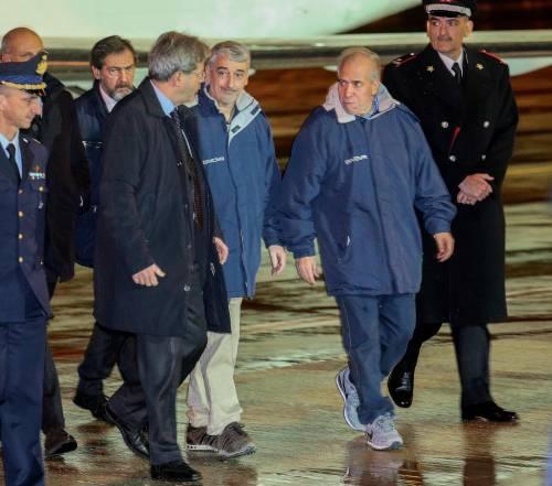 Gli ex ostaggi sono arrivati a Ciampino 2