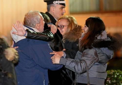 Gli ex ostaggi sono arrivati a Ciampino 6