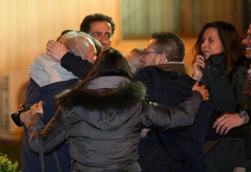 Gli ex ostaggi sono arrivati a Ciampino 7