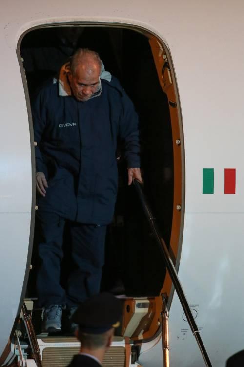 Gli ex ostaggi sono arrivati a Ciampino 10