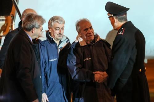 Gli ex ostaggi sono arrivati a Ciampino 12