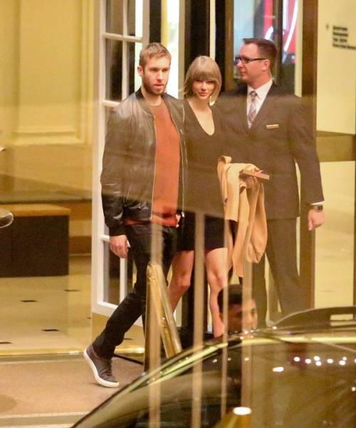 Taylor Swift e Calvin Harris festeggiano il primo anniversario: foto 7