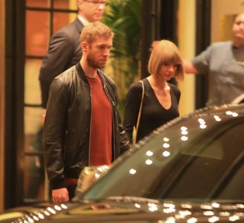 Taylor Swift e Calvin Harris festeggiano il primo anniversario: foto 10