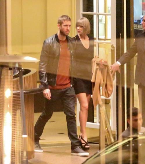 Taylor Swift e Calvin Harris festeggiano il primo anniversario: foto 5