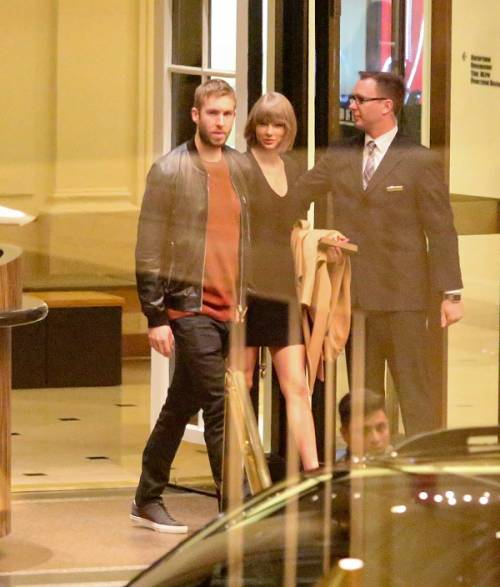 Taylor Swift e Calvin Harris festeggiano il primo anniversario: foto 12