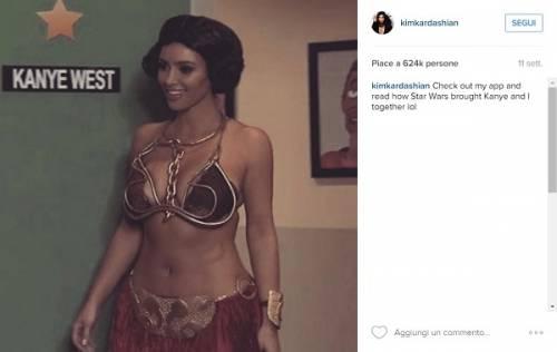 Kim Kardashian nuda su Instagram: foto 6