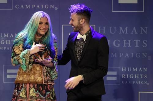 Kesha premiata dalla Human Rights Campaign: foto 2